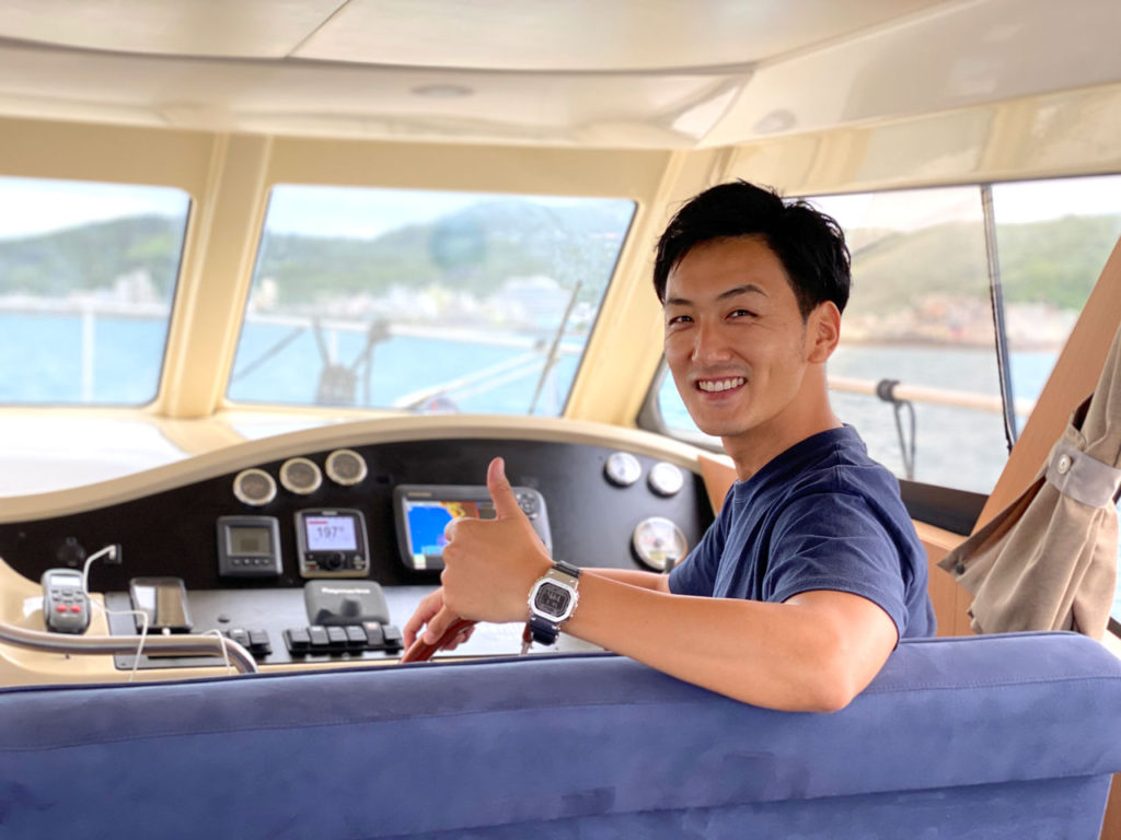 Captain/Executive managing director:Takeshi YUZURIHARA