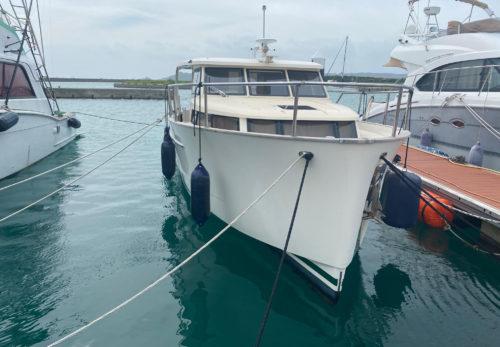 ボート マリーナ 台風対策
