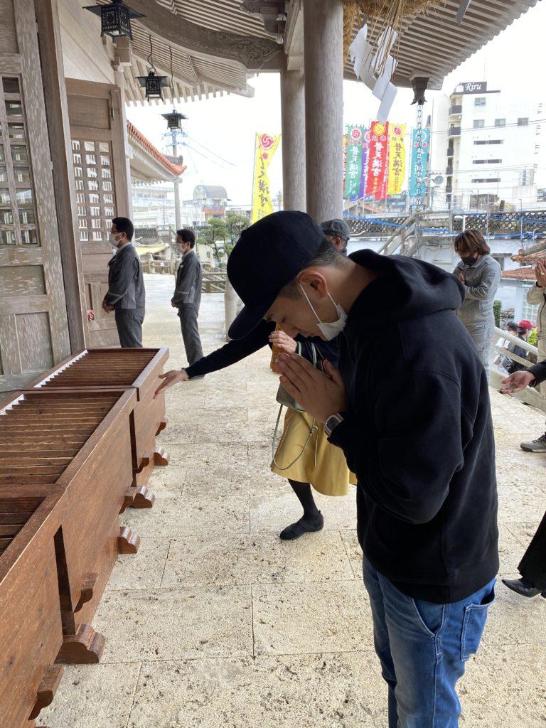沖縄チャータークルーズ 初詣 普天間神宮 普天満宮